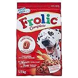 Frolic Complete Hundefutter Rind, Karotten und Getreide, 5 Packungen (5 x 1,5 kg)