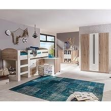 Kinderzimmer hochbett komplett  Kinderzimmer Komplett Hochbett | gerakaceh.info