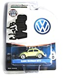 Volkswagen VW Käfer Classic Beetle mit Dachgepäckträger mint-beige V-Dub Serie Greenlight 1:64