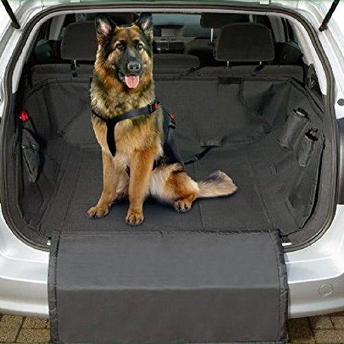 CD1502 Auto Hundeschutzdecke Kofferraum Schutzdecke Autoschutzdecke Schondecke Große Liegefläche: Maße: ca. 167 x 127 cm + 79 x 49 cm