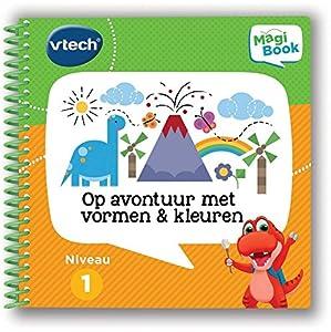 VTech MagiBook activiteitenboek - Op avontuur Met vormen & kleuren Niño/niña Juguete para el Aprendizaje - Juguetes para el Aprendizaje (193 mm, 60 mm, 206 mm, 150 g)