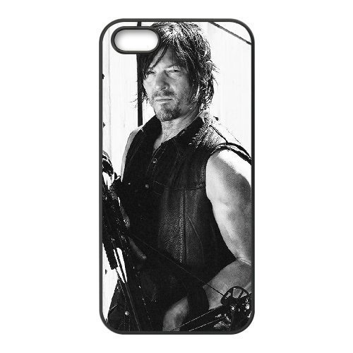 The Walking Dead Use Your Own Image Phone Case for Iphone 5,5S,customized case cover ygtg322229