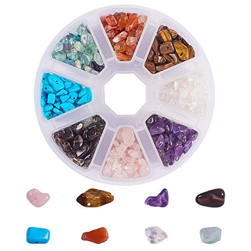 PandaHall Elite joyas de piedras preciosas multicolor Chip para la fabricacion sobre 800pcs/caja