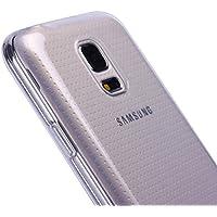 Liamoo Samsung S5 mini TPU rundum klare Schutzhülle Hülle Case Cover in durchsichtig klar