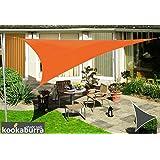 Toldos Vela Kookaburra Naranja Triangular 5.0m (Impermeable)