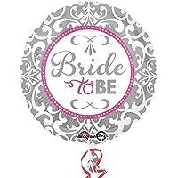 Amscan 3212301 Elegant Bride To Be Foil Balloons