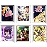 Uchiha Sasuke Best Friendship Manga Anime Wall Art Print ...