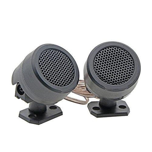 Zantec 2PCS 500W vorverdrahtete Hochtonlautsprecher Auto Audiosystem