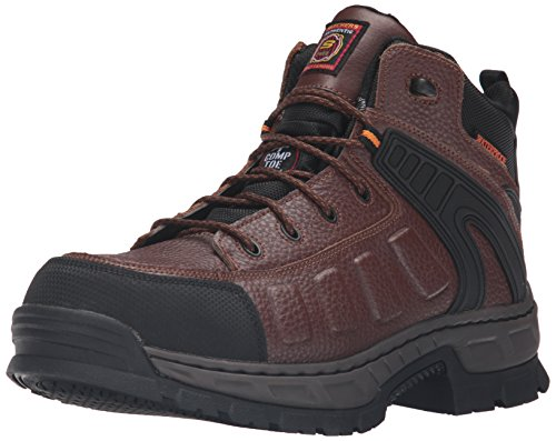 Skechers Work Mens Vinton Gurden Comp Toe Work Boot brown