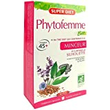 SuperDiet Phytofemme 45 + 11 plantes et fruit Thé vert minceur 20 ampoules de 15ml