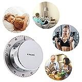 Biniwa–1pezzi in acciaio INOX da cucina timer meccanico, magnetico, sveglia, home decor Alluring Kitchen Time Tool