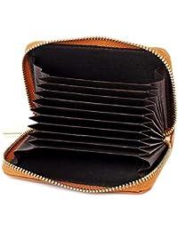 HUALQ Y820 Billetera De Mujer Paquete De Tarjeta Hembra Cremallera Corta Monedero Multi-Tarjeta De