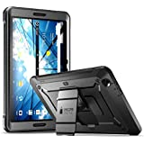 AT&T Primetime Tablet Case, SUPCASE [Heavy Duty] [Unicorn Beetle PRO Series] Full body Rugged Protective Case with Built in Screen Protector for AT&T / ZTE Primetime 2017 (Black)