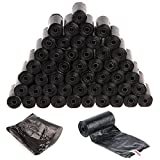 AllRight Doggy Bags Pet Dog Poo Waste Bag Extra Strong Leak Proof 50 Roll 1000Pcs Black
