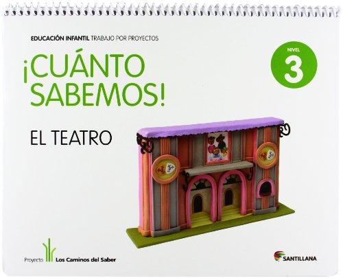 Los Caminos del Saber, ¡Cuánto Sabemos!, El teatro, 3 Educación Infantil por From Santillana Educación, S.L.