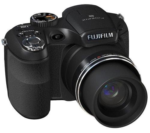 Fujifilm Finepix S2500HD Digitalkamera (12 Megapixel, 18-fach opt.Zoom, 7,6 cm Display, Bildstabilisator) schwarz