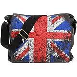 Union Jack Tasche | Leinwand | Schultertasche | Vintage | Robin Ruth UK | London Bag