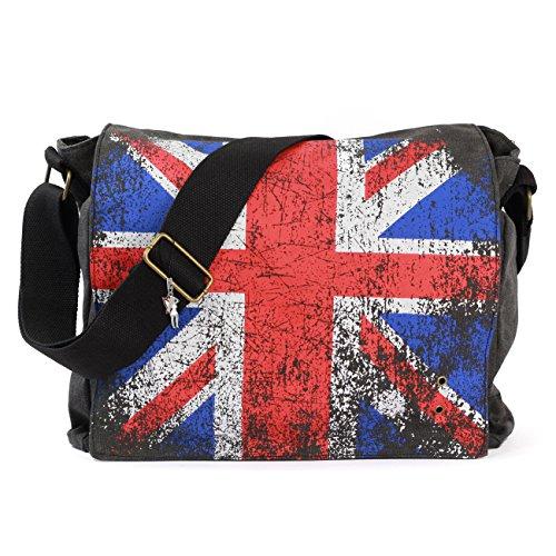 Union Jack Tasche | Leinwand | Schultertasche | Vintage | Robin Ruth UK | London Bag (Damen Jack Handtasche Union)