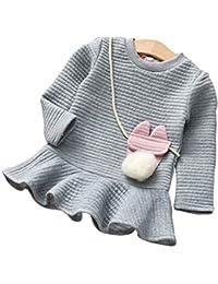 Riou Mantel Baby Kleidung Winter Warme Mantel Kapuzenjacke Kinderjacke Wintermantel Daunenjacke Weihnachten Kleinkind... preisvergleich bei kinderzimmerdekopreise.eu