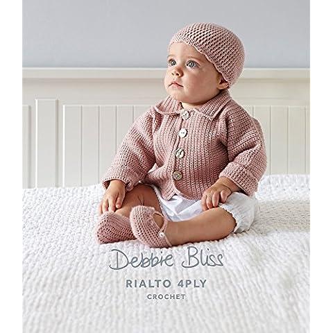 Debbie Bliss Crochet Giacca e berretto scarpe modello