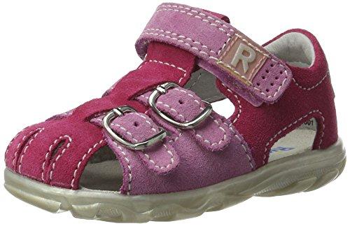 Richter Kinderschuhe Baby Mädchen Terrino Lauflernschuhe, Pink (Fuchsia/Candy/Silver), 26 EU