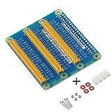 MakerHawk Raspberry Pi 3 Pi 2 Pi Modell B + GPIO Erweiterung Erweiterungskarte Eine Reihe zu drei Zeilen GPIO
