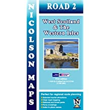Nicolson Map 02. West Scotland & the Western Isles 1 : 250 000 (Nicolson Road Maps)