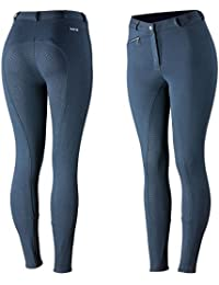Pantalones para montar Con Asiento Completo de Silicona para Mujer Horze Active