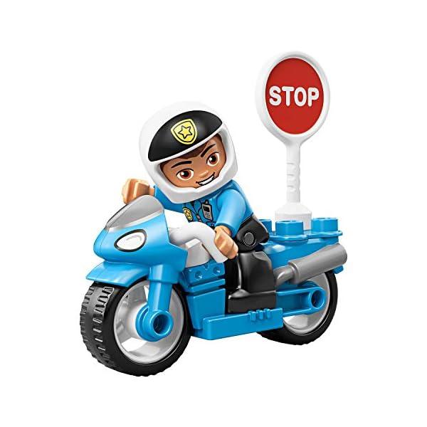 LEGO Duplo - Moto della Polizia, 10900 5 spesavip