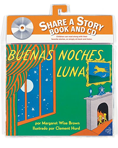 Buenas Noches, Luna Libro Y CD: Goodnight Moon Book and CD (Spanish Edition) [With CD (Audio)] (Libros Para Mi Bebe)