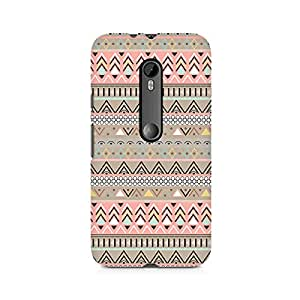 TAZindia Printed Hard Back Case Cover For Moto X Style