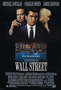 Wall Street Movie Poster 61cm x 91cm 24inx36in