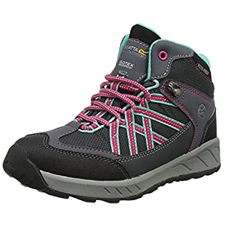 Regatta Samaris Mid Jnr, Girls' High Rise Hiking Boots 4