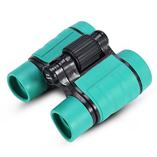 Kinderfernglas 4x30 Compact Shock Proof Kinder Fernglas Spotting Teleskop Bestes Geschenk für Vogelbeobachtung, Bildungslernen, Outdoor Camping und Sportspiele