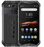 (2019) Telephone Portable Incassable 4G, Ulefone Armor 3W (Batterie 10300mAh), Helio P70 6Go + 64Go, 21MP + 8MP, 5.7 Pouces FHD Android 9.0 Smartphone Etanche/Antichoc, NFC/Charge sans Fil, Noir