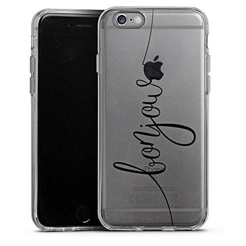 Apple iPhone 7 Silikon Hülle Case Schutzhülle Bonjour Frankreich ohne Hintergrund Silikon Case transparent
