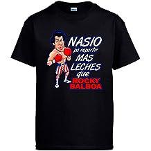 Camiseta Rocky Balboa nacido para repartir leches
