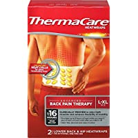 HeatWraps - Lower Back & Hip L-XL 2 wraps by ThermaCare