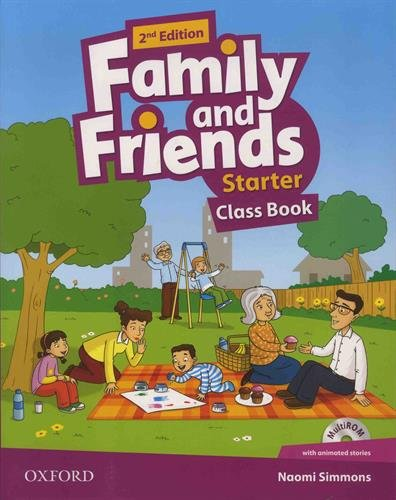 Family and Friends Starter Class Book (1CD audio) par Naomi Simmons
