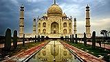 OBELLA Malen nach Zahlen Kits || Indien Taj Mahal 50 x 40 cm || Malen nach Zahlen, DIGITAL Ölgemälde (Mit Rahmen)