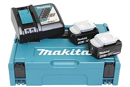 Makita Power Source Kit 197494-9 (2x Akku, 1x Schnellladegerät) - Power Battery Kit