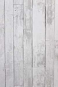 Vlies tapete antik holz rustikal hell grau verwittert - Tapete rustikal ...