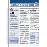 PERSONALTIPP - Personalthemen und Personalmanagement [Jahresabo]