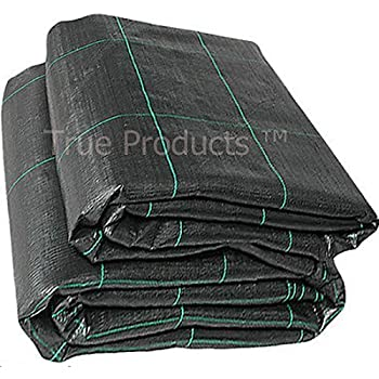 2m x 50m 100g Weed Control Ground Cover Membrane Landscape Fabric Heavy Duty