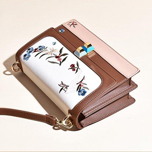 Style1 Lady Und Kartenetuis Brieftaschen Stickerei Geldbörsen Schulter Breite ZCJB Schultergurt Style3 Taschen Paket Farbe Ew7ZXqd5d