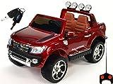 Kinderauto Kinderelektroauto Kinderelektrofahrzeug Kinder elektroauto 12V Orginal Ford Ranger Luxus rot RC