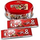 Nestlé Caja Roja (250 g) + Pack de 2 KitKat Galleta Recubierta (8 unidades x 20.8 g)