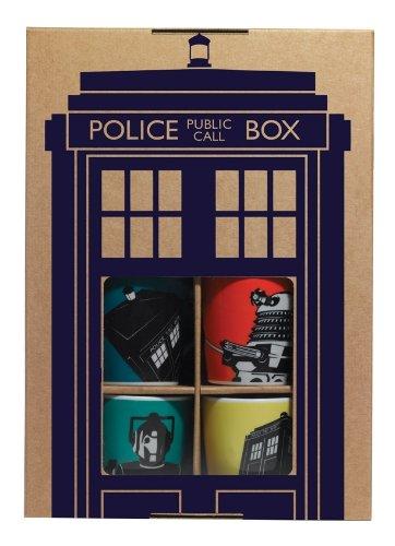 bbc-worldwide-set-di-4-tazze-da-espresso-della-serie-doctor-who-in-confezione-regalo-vari-colori
