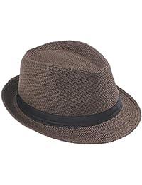 6bb0cc8323273 Sunonip Trabajo Hecho A Mano De Verano Sombrero De Paja Sombrero De Sol  Playa Boho Sombrero