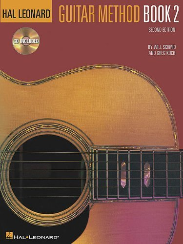 Hal Leonard Guitar Method Book 2: Book/CD Pack by Will Schmid (2000-01-01)